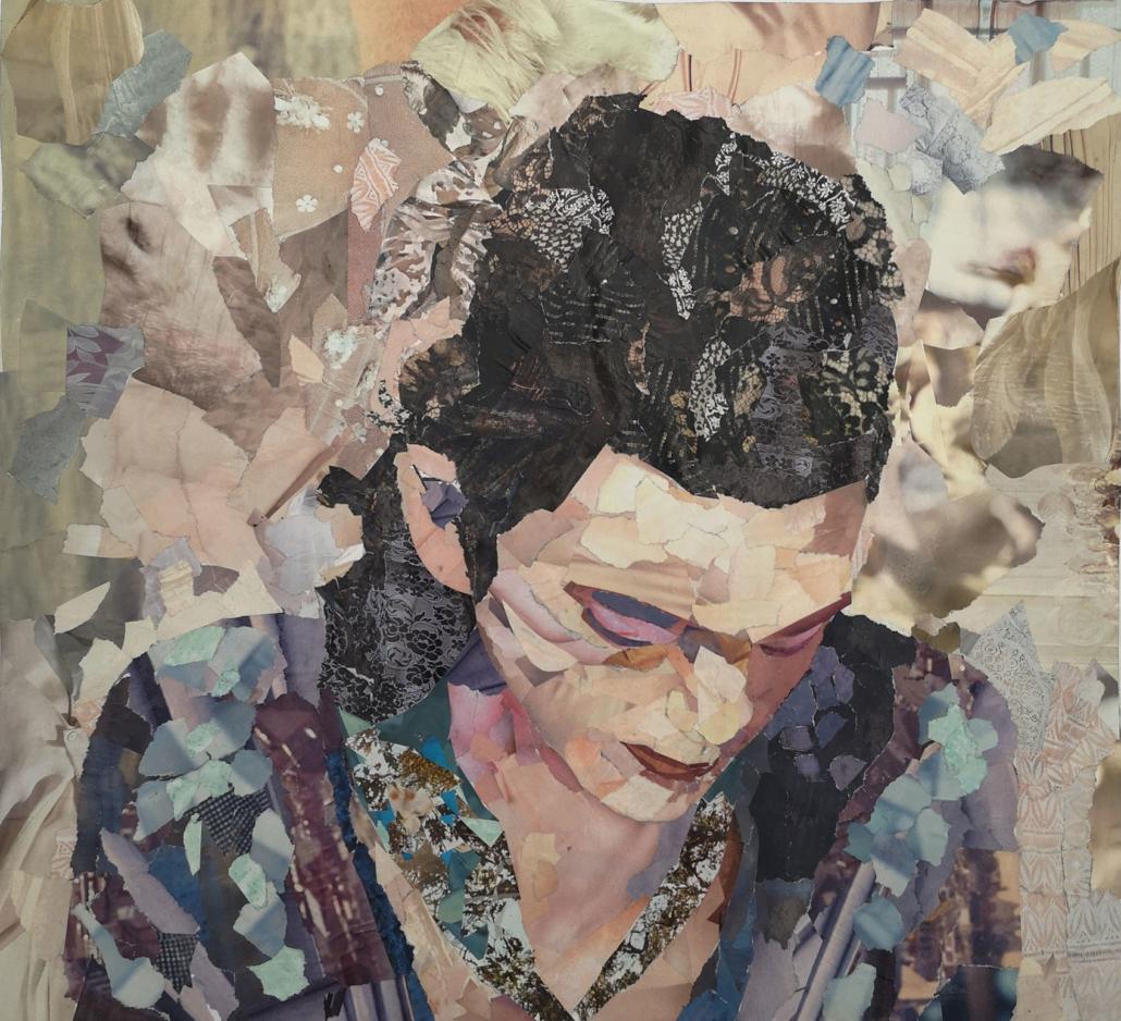 bulle créative collage Delphine Lelorrain
