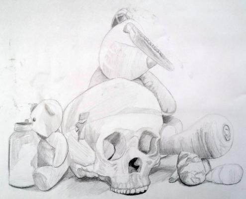 Natture morte au graphite