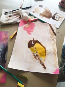 Bulle créative stage dessin enfants