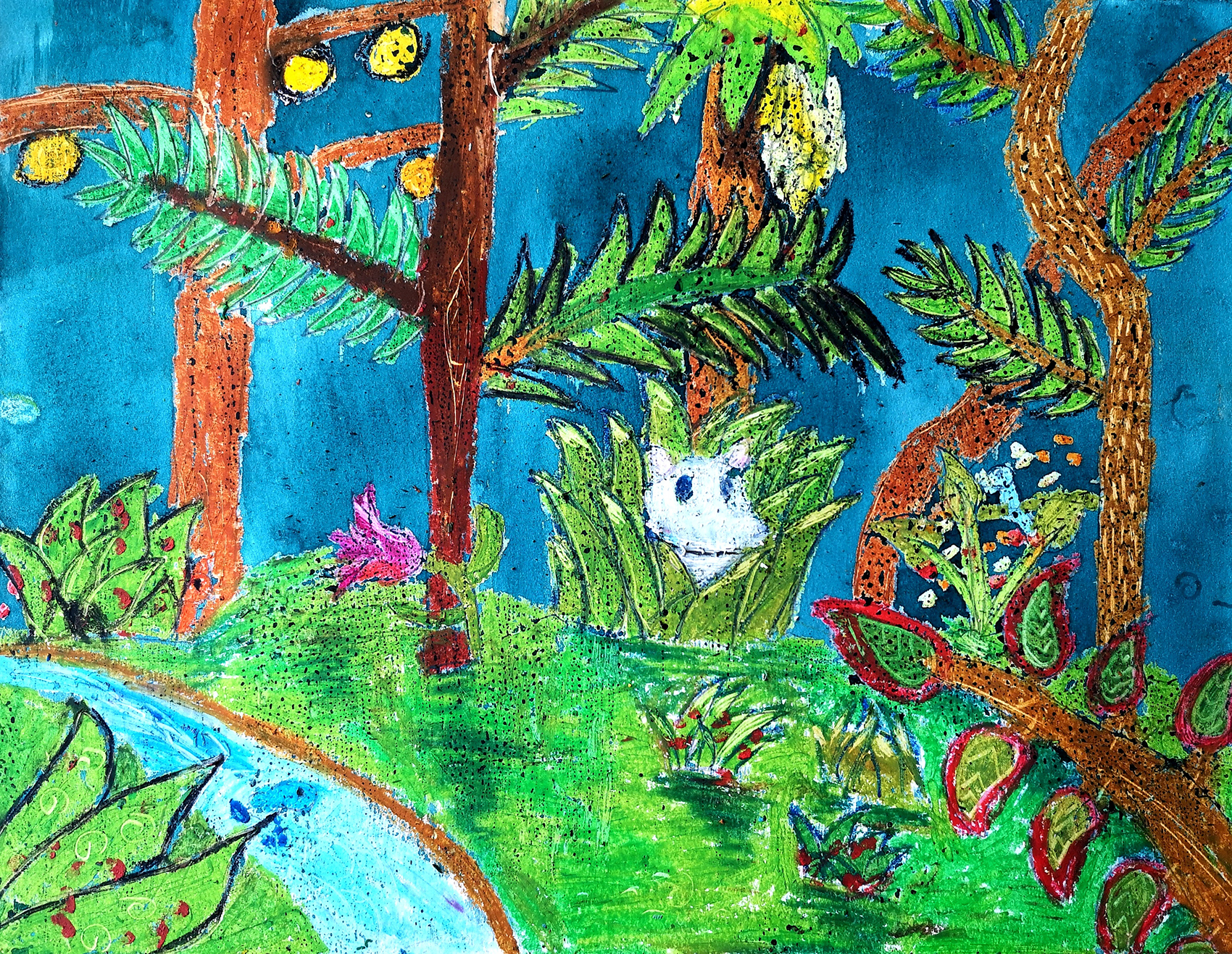bulle créative - cours dessin hebdo enfants